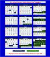 Malaysia School Calendar Year 2014 - Group A