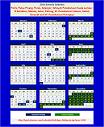 Malaysia School Calendar Year 2014 - Group B